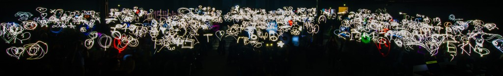 At the re-publica we set the lightpainting world record together! #rp15lights #rp15