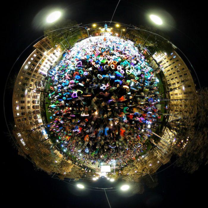 #PlanetMünchenLeuchtet - Foto von Andreas Tichon (dreihundertsechzig) Konzept Ulrich Tausend und Benjamin David - cc by-nc-sa